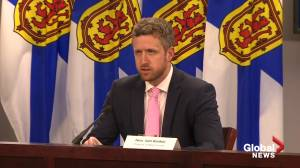 Nova Scotia entering 2-week shutdown amid COVID-19 surge (01:55)