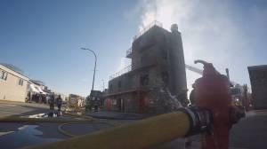 Local fire officials test lifesaving software (01:47)