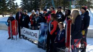 Athletes band together for future of WinSport sliding track