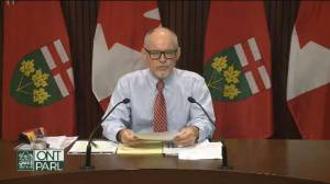 Ontario announces 'targeted' COVID-19 rapid testing program for schools (04:39)