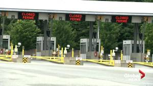 Jean Charest on the Canada-U.S. border re-opening (02:22)