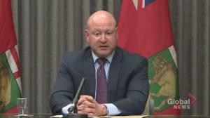 Roussin attributes delay in Manitoba's COVID-19 third wave to travel restrictions (00:51)