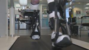 Veterans and first responders in B.C. now have greater access to the Lokomat machine (02:20)