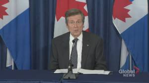 Coronavirus outbreak: Mayor Tory 'appreciates' Ford's regional approach of reopening