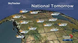 Edmonton weather forecast: Saturday, November 9, 2019