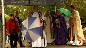 Opposing LGBTQ2 rallies held in Toronto