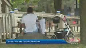 Ontario reopens outdoor amenities (02:24)