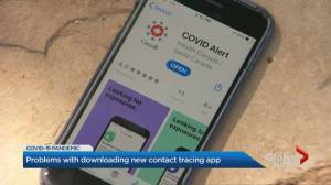 Complaints about accessibility of new COVID Alert app