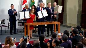 New CUSMA deal formally signed in Mexico City