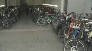 Vancouver Police seize hundreds of stolen bicycles (01:03)