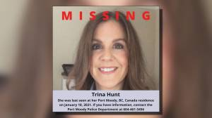 Port Moody police update Trina Hunt missing person case (00:59)