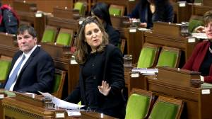 Coronavirus: Freeland outlines Canada's vaccine procurements for the House (01:10)