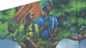 Oshawa mural hopes to revitalize community (01:51)