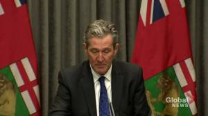 Coronavirus: Manitoba issued over 100 tickets to people breaking public health rules, says Pallister (00:43)