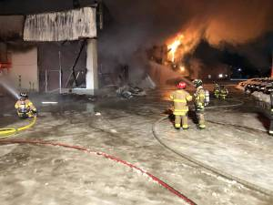 Man, youth charged in Edson car dealership fires, Whitecourt pet store fire