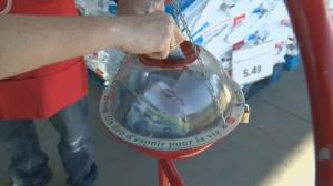 Salvation Army's Kettle Campaign donations are down