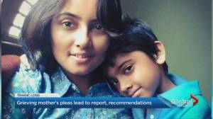Grieving mother's call for action leads to report, recommendations (02:39)