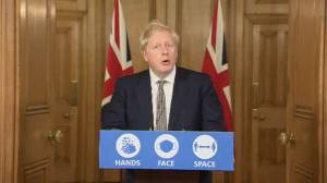 Coronavirus: U.K. PM Boris Johnson announces new lockdown in England (08:32)
