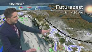 Kelowna Weather Forecast: February 25 (03:31)