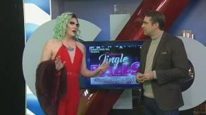 Calgary's 8th annual Jingle Balls Drag Show