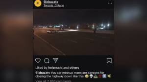 Police investigating after 'highway hijacking' video