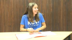 Kingston track star Anna Workman signs with Virginia
