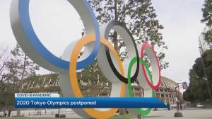 Olympic Gold Medalist Adam Van Koeverden reacts to Olympics postponement