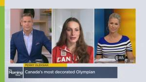 Penny Oleksiak on becoming Canada's most decorated Olympian (05:13)
