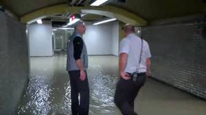 Montreal Metro hit by flooding after pipe bursts