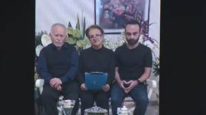 'Our tears won't dry': Family of Iran plane crash victim thanks friends, colleagues for holding memorial