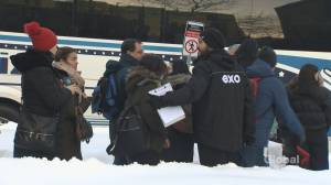 Pipeline protest disrupts train service on Exo's Candiac line