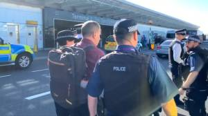 Climate activists arrested in foiled Heathrow drone disruption