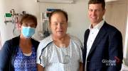 Play video: Hiker who suffered heart attack credits 'divine intervention' as Calgary cardiologist helps save his life