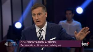 Leaders' Debate: Bernier says other party leaders will 'never balance the budget'