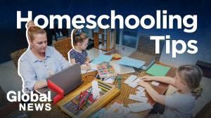 Coronavirus: How parents can homeschool their kids (02:19)