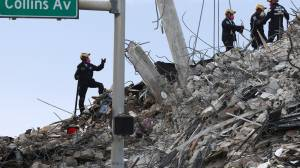 Surfside building collapse death toll rises to 36 after four more bodies found (01:48)