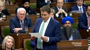 Scheer accuses Trudeau of doing 'dirty work' for Canada's foreign oil, gas competition