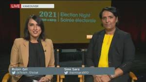 Canada election: NDP's Singh hoping to enhance 'kingmaker' role with strong showing (01:22)