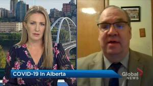 Political scientist Duane Bratt says Alberta's new 'convoluted' rules are several weeks too late, calls for Kenney to resign (04:53)