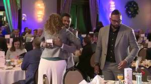 Breakfast with the Guys highlights domestic violence issues in Alberta