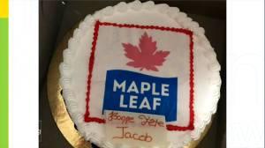 Epic parent fail: Maple Leaf cake isn't quite what boy expected