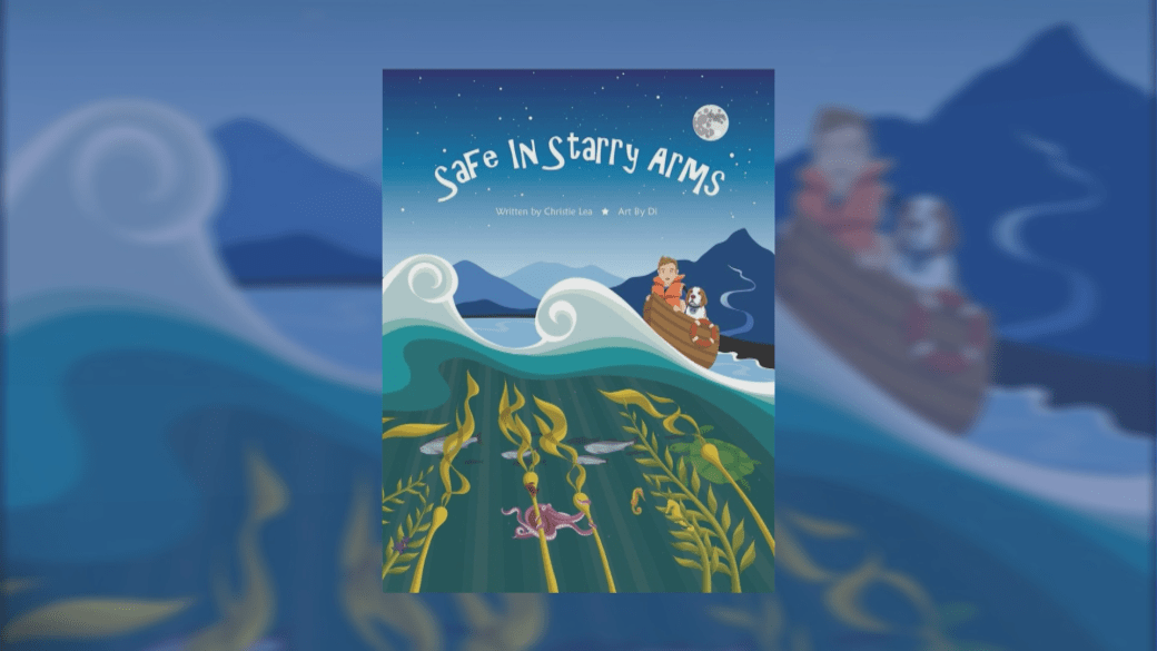 Click to play video 'New children's book tackles anxiety'
