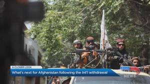 What's next for Afghanistan after the International exit (03:35)