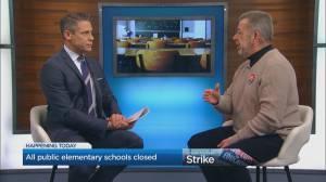 All public elementary schools closed in Ontario
