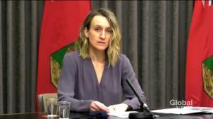 Coronavirus: Manitoba provides update on vaccine rollout (03:15)