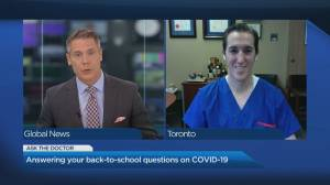 Toronto doctor weighs in on top back to school questions from parents