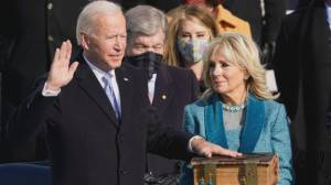 Joe Biden inaugurated as 46th President of the U.S. (05:39)
