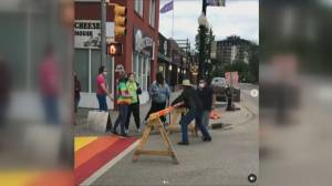 Saskatoon Broadway Pride incident (00:56)