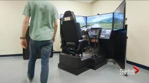 Unique driving simulator coming to University of Saskatchewan (01:36)