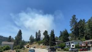 Wildfire in Peachland, B.C. (01:42)